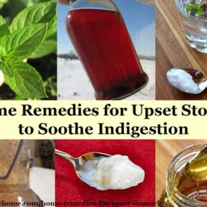 Home remedies for upset stomach and indigestion that may help soothe your aching belly, plus recommendations to prevent stomach upset.