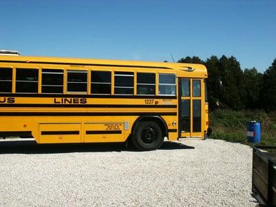 solar tour bus