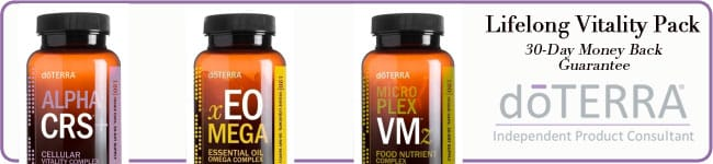 Feel better!  Try the Lifelong Vitality Pack Risk Free.
