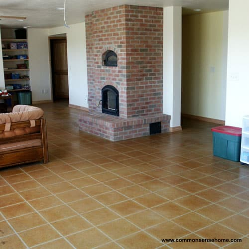 Acid Stained Concrete Floor - Eco-Friendly Flooring