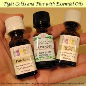 Cold and Flu Fighters - Essential Oils