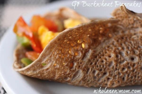Homemade Bread Recipe - gluten Free Buckwheat Wraps