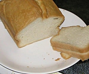 Homemade Bread Recipes - Coconut Butter Sandwich Bread
