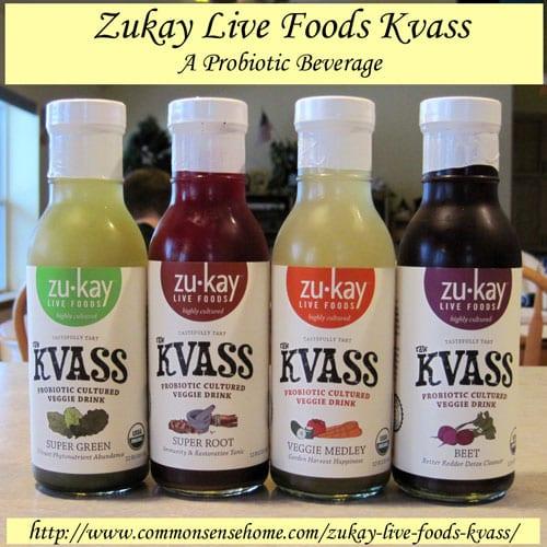 Zukay Live Foods Kvass