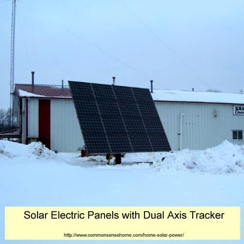 Dual Axis Tracking Solar Power