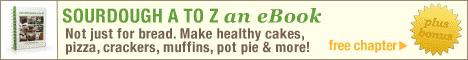 Buy the Sourdough A to Z recipe book