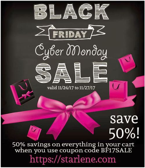 Starlene Black Friday Sale