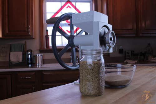 Getting Started With a Home Grain Mill - What is a grain mill and how do you use a grain mill. Which grain mill is best for the home user.