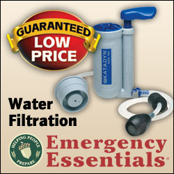 Visit Emergency Essentials for Water Filtration and All Your Mergency Needs