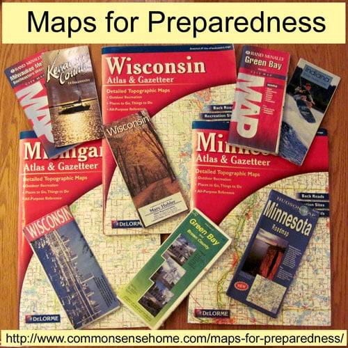 Maps for Preparedness and Common Sense Preparedness Link Up #7