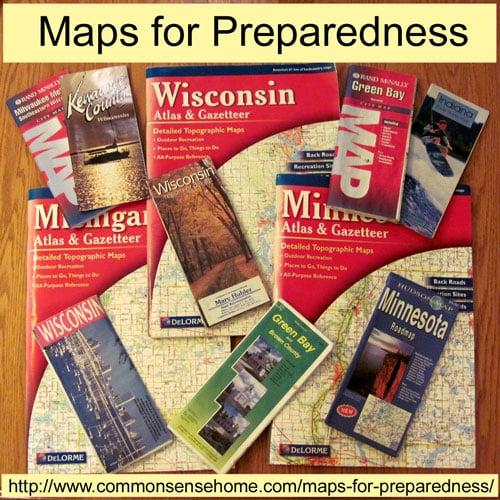 Maps for Preparedness and Common Sense Preparedness Link Up #7