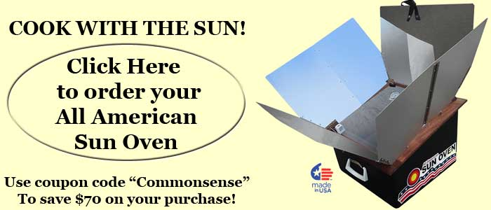 Buy an All American Sun Oven