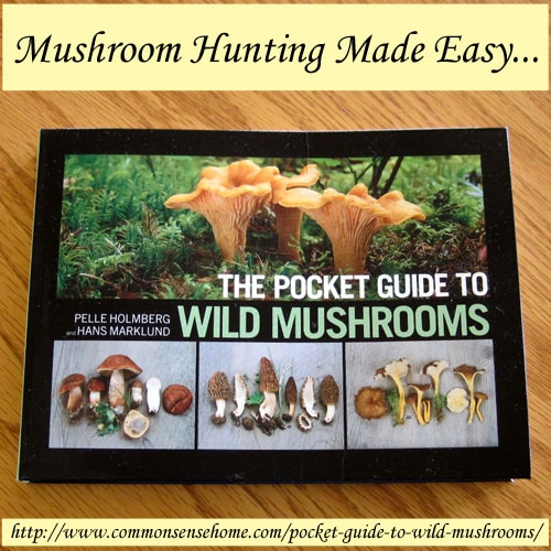 The Pocket Guide to Wild Mushrooms Review and Giveaway @ Common Sense Home