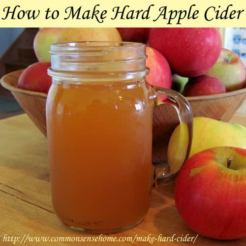 "How to Make Hard Cider. Brewing hard cider from non-alcoholic, or ""sweet"" cider is a simple process, and the inebriating end product is as delicious as it is discombobulating."