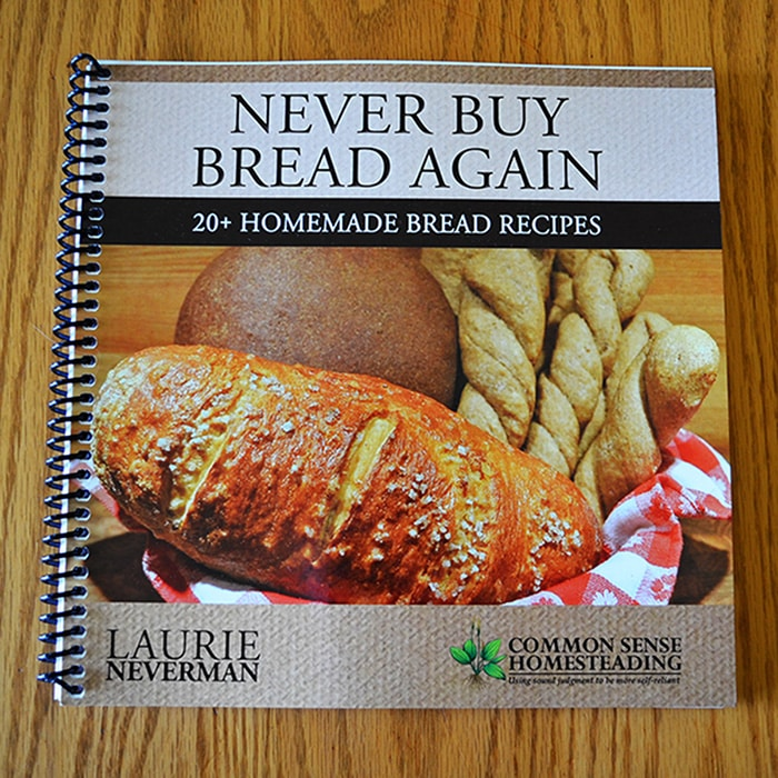 Never Buy Bread Again book