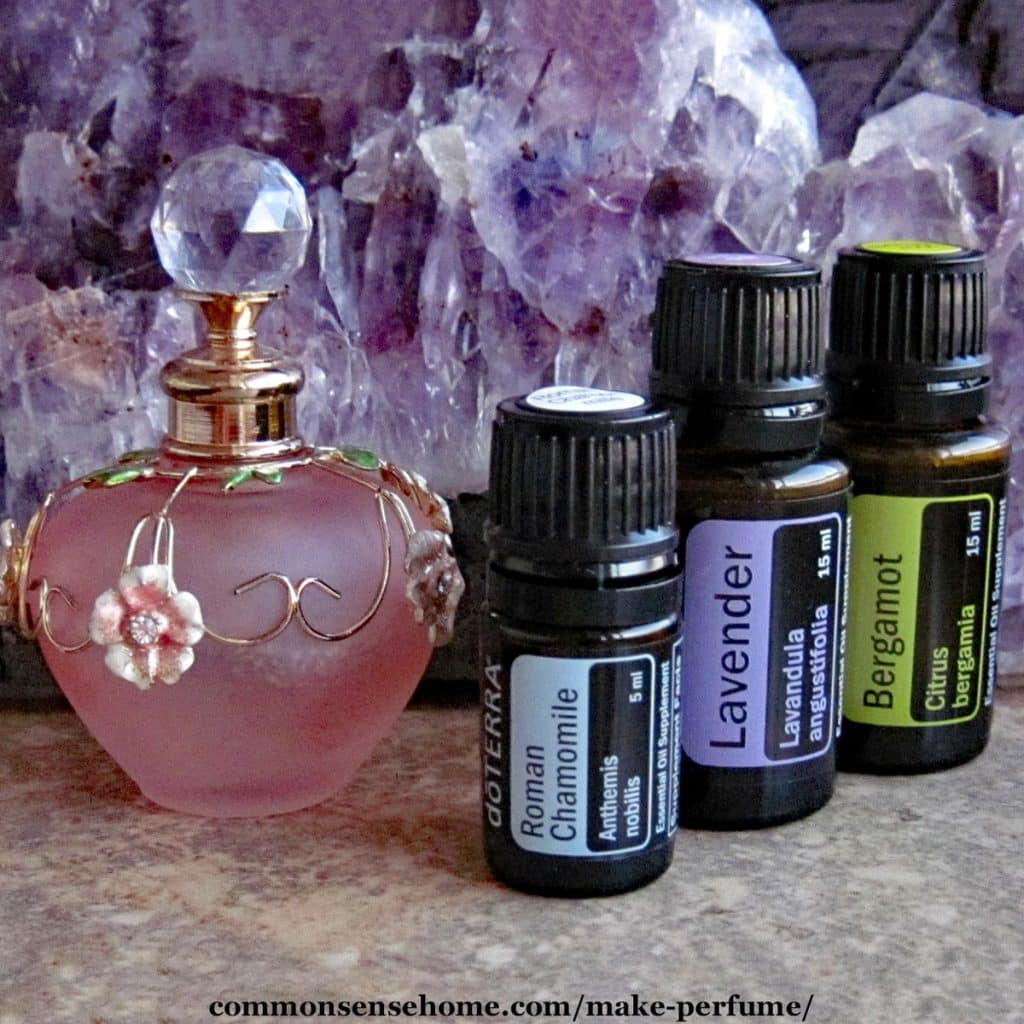 How to Make Perfume with Essential Oils - Blends for Stress