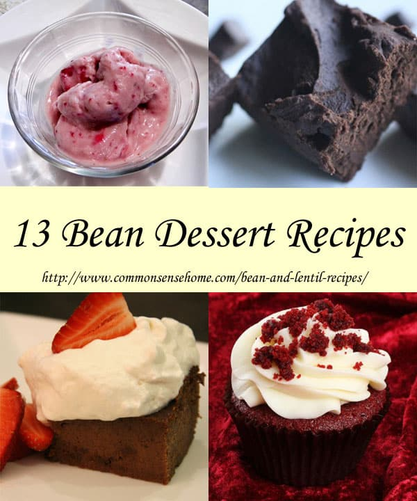 Bean and Lentil Recipes - More than 66 Recipes from Soups to Dessert