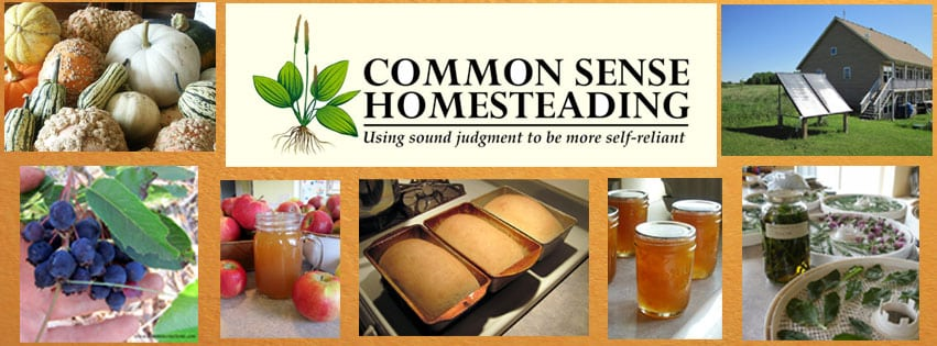 Subscribe to Common Sense Homesteading