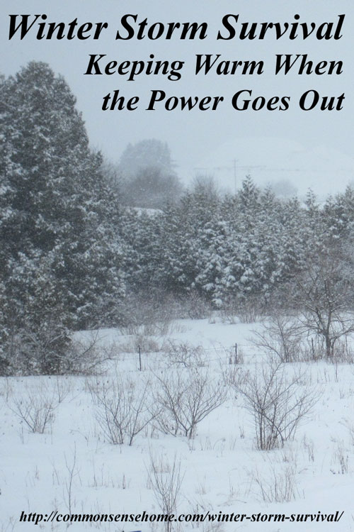 Winter Storm Survival   Keeping You And Your Home Warm When The Power Goes  Out
