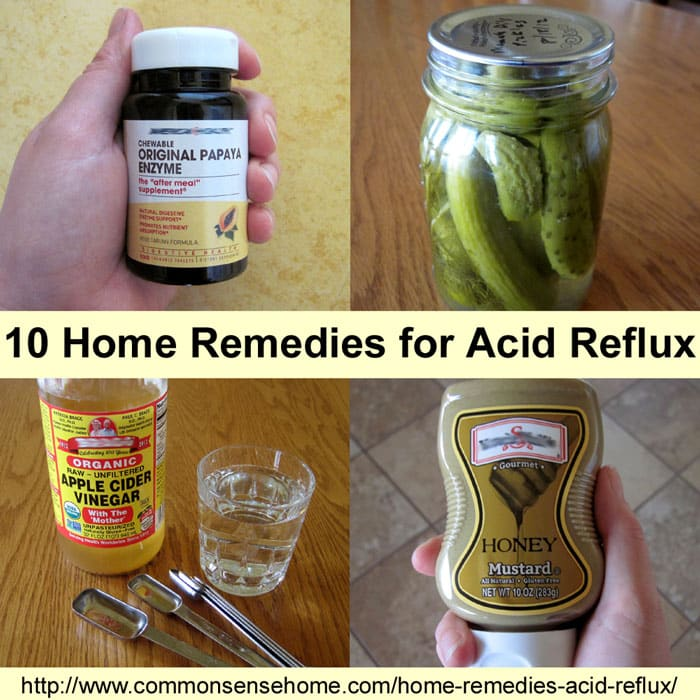 Home Remedies for Acid Reflux -10 quick fixes and long term solutions for GERD, or gastroesophageal reflux disease. Use the pantry instead of the pharmacy.