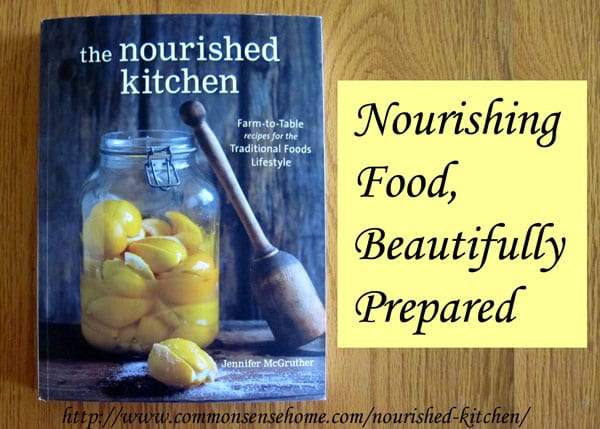 The Nourished Kitchen Cookbook - Recipes focus on seasonal cooking of locally available foods, and are based on the Weston A. Price traditional foods diet.