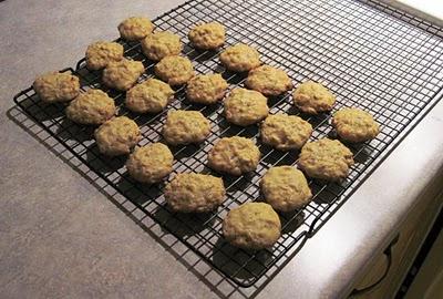 dandelion petal cookies