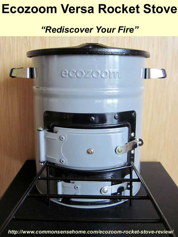 Ecozoom Rocket Stove Portable Cooking With Multiple Fuels