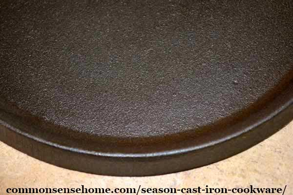 seasoned cast iron tortilla griddle