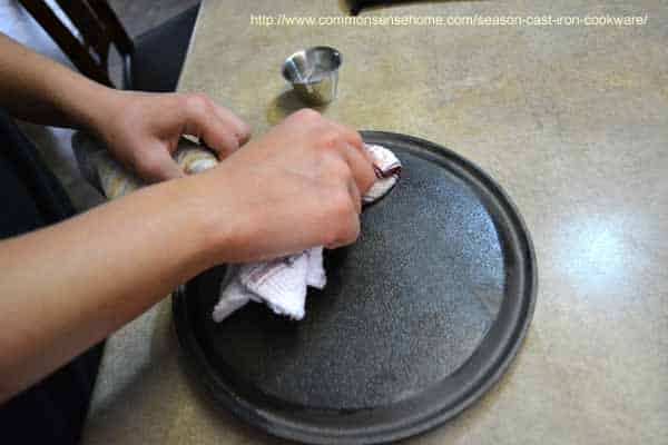 How to season cast iron cookware so that it will have a non-stick surface. Can be used for old, rusted cast iron that needs to be stripped and re-seasoned.