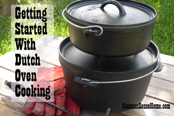Getting Started With Dutch Oven Cooking