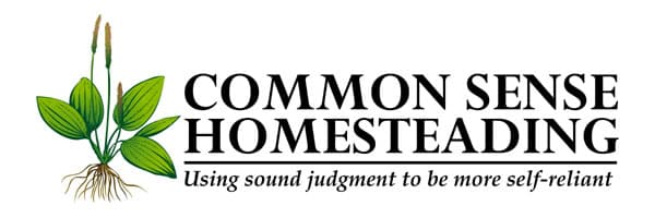 Common Sense Homesteading Logo