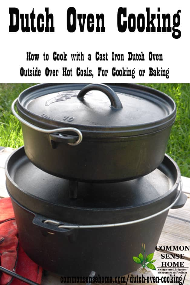 Stacked Dutch Oven for Dutch oven cooking