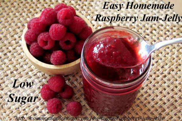 raspberry jam red raspberry low sugar jam red raspberry preserves ...