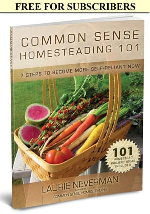 Get Homesteading 101 FREE