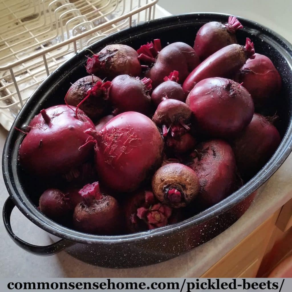 roaster filled with beets