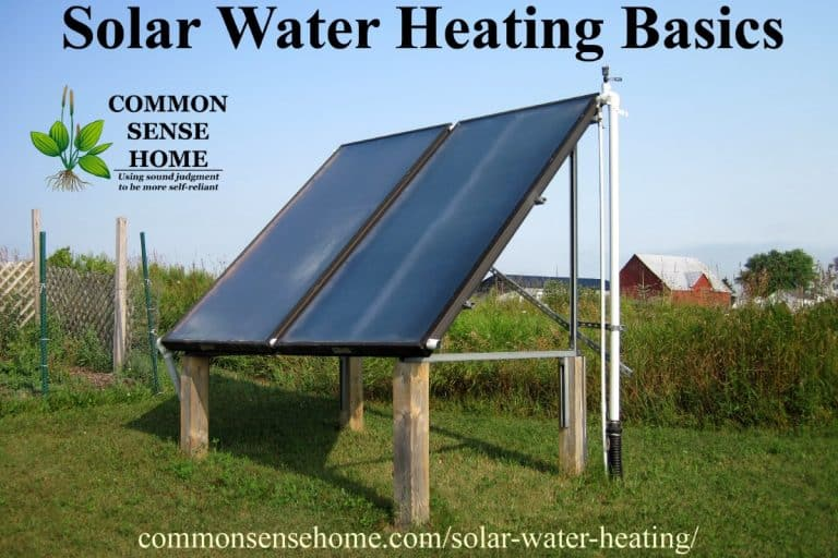 Solar Water Heating Basics – What You Need to Heat Water with the Sun