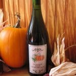 pumpkin wine with pumpkin and dried corn