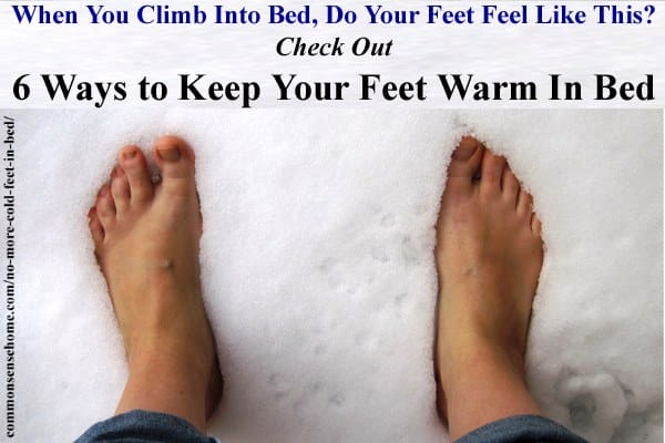no more cold feet