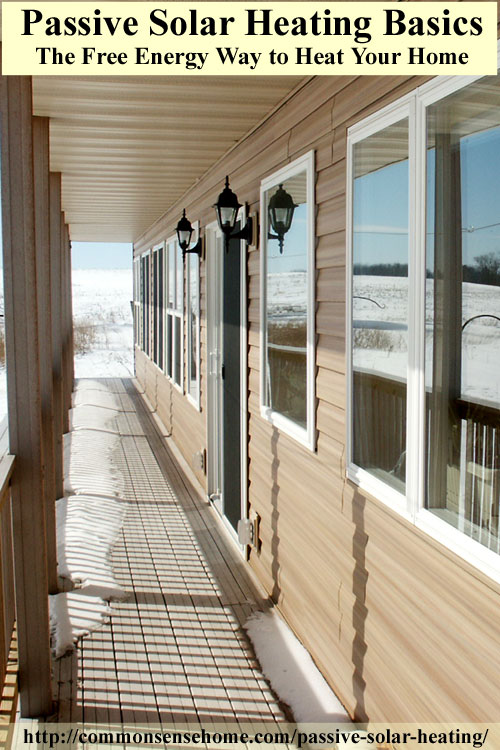 passive solar heating basics 14 design principles for the passive solar home - Home Heating Design