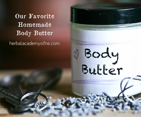 10 Easy Herbal Gifts to Enjoy Now, Plus One Gift That Lasts All Year Long - Easy homemade body butter