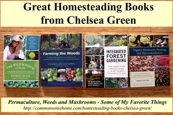 4 Great New Homesteading Books from Chelsea Green