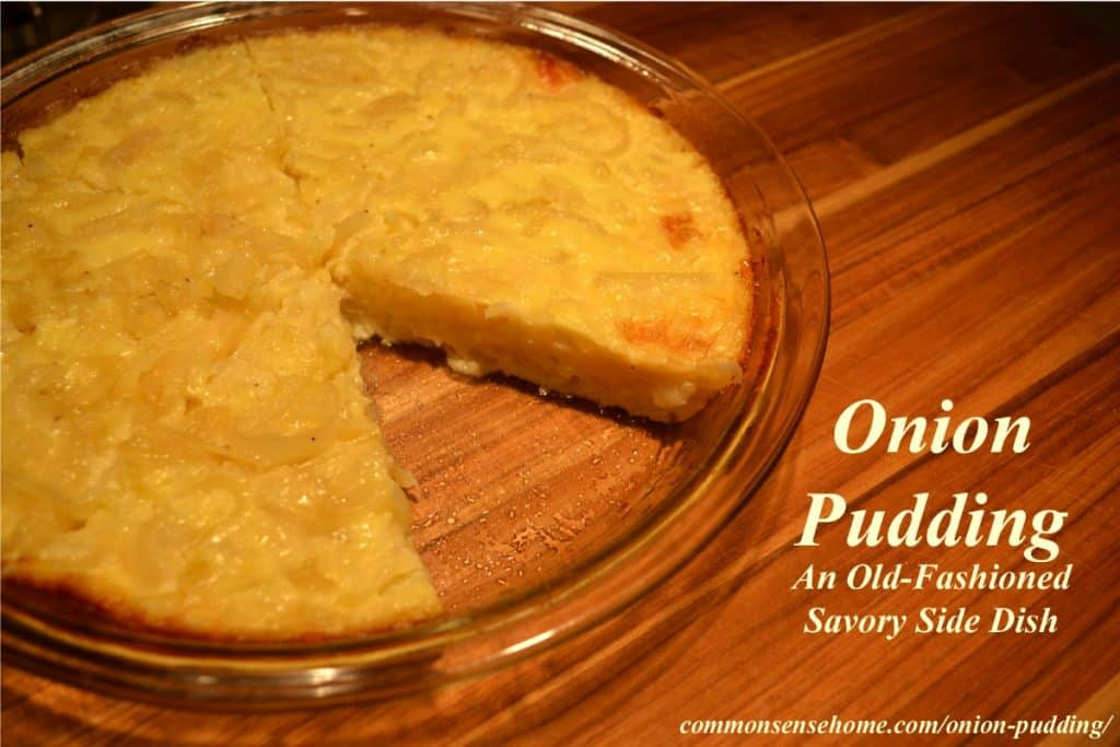 onion pudding