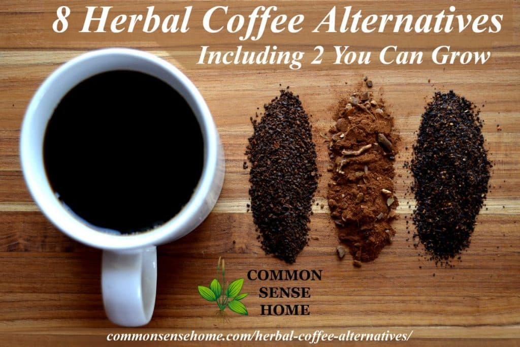 Herbal coffee alternative lineup