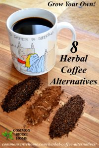 8 Herbal Coffee Alternatives, Including 2 You Can Grow - Check out these natural herbal coffee alternatives for a healthier morning habit or a warm and toasty drink that won't keep you up at night.