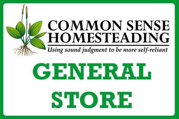 Common Sense Homesteading General Store