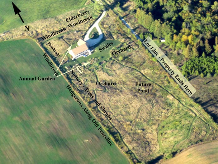 The Common Sense Homestead Permaculture Project - Part 1 - Site Overview