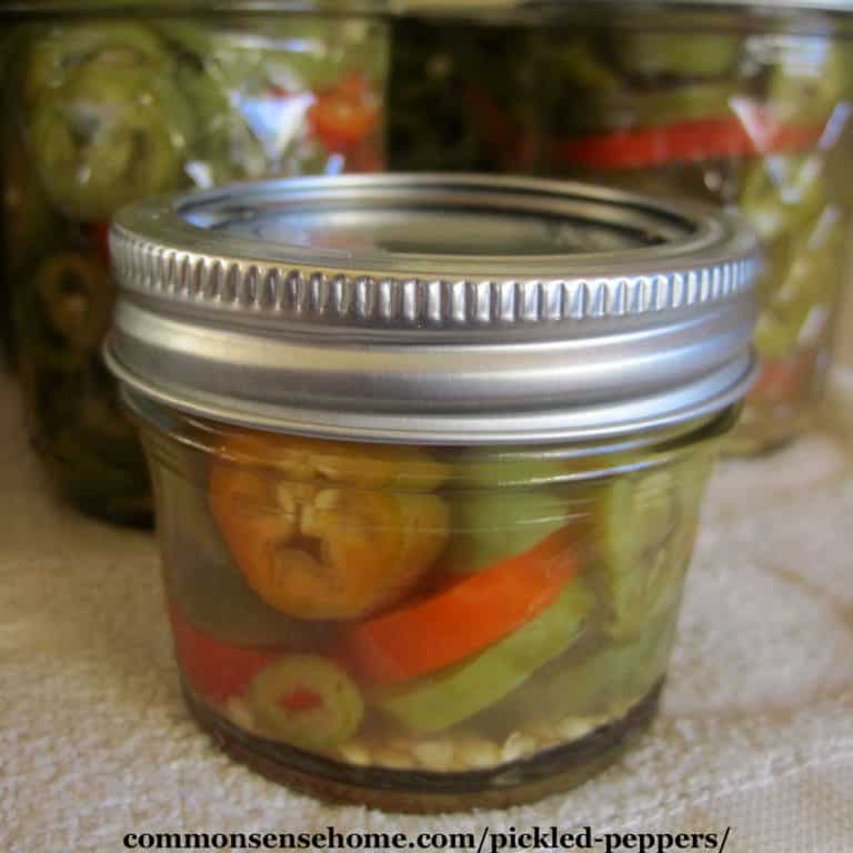 Pickled Peppers Recipe for Canning – Just Four Ingredients