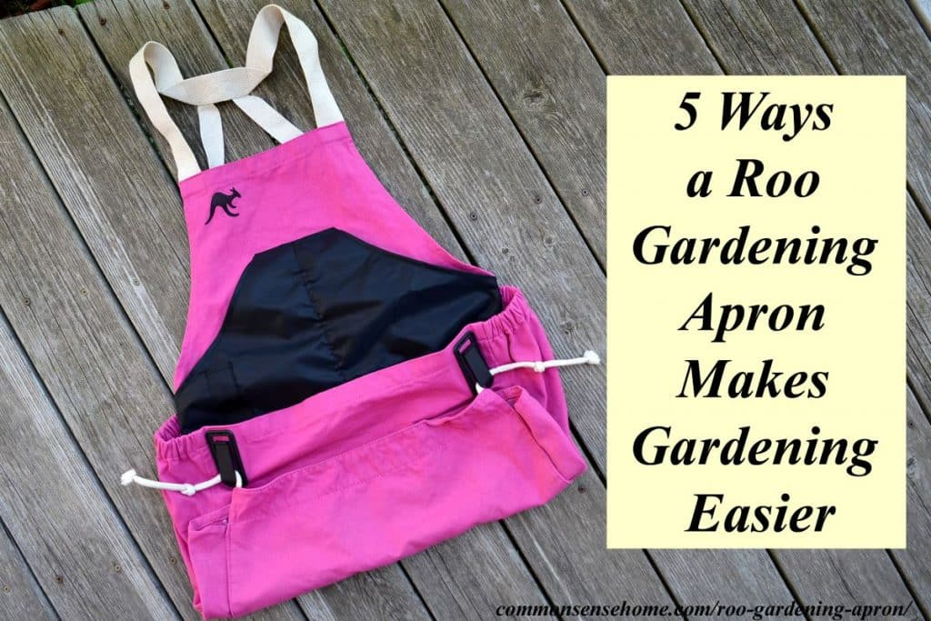 The Roo Gardening Apron is a sturdy, hands free, go anywhere garden accessory to make your gardening life a little easier. From planting to weeding to harvest, this apron may become your new best friend in the garden.