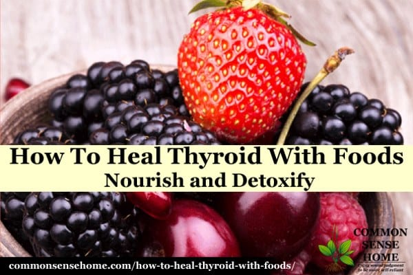 Thyroid healing fruit