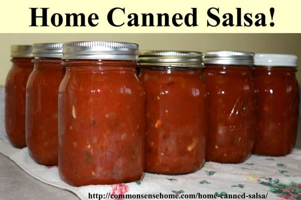 "This home canned salsa recipe rates an ""Awesome!"" from friends and family alike. Hot or mild - you choose! Enjoy your fresh, local produce year round."